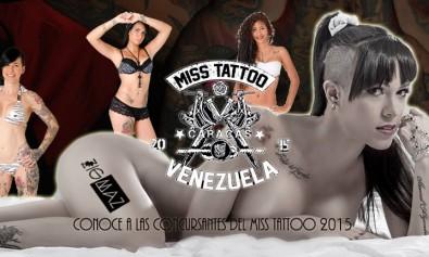 Conoce a las concursantes del Miss Tattoo 2015