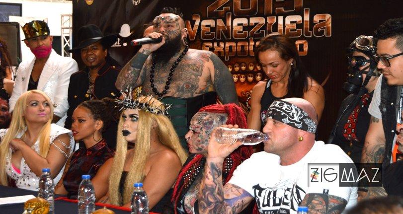 Inicio de la Venezuela Expo Tattoo 2015