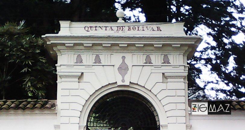 ZigmaZ visita la Quinta de Bolívar en Bogotá