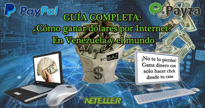Ganar dólares en Venezuela