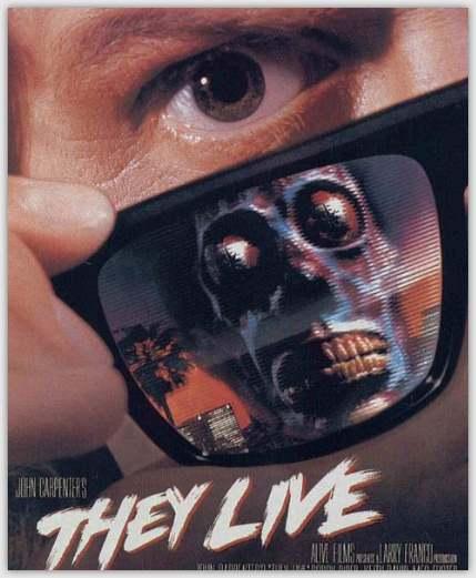 They live (1988) película sobre la raza de los reptilianos