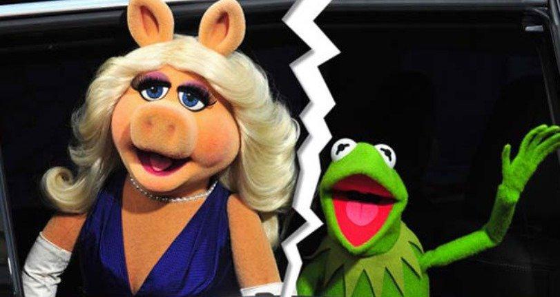 Sorprendente! La rana René y la cerdita Peggy se separan