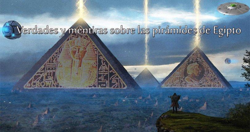 Secretos de las pirámides de Egipto y del mundo, Extraterrestres las hicieron