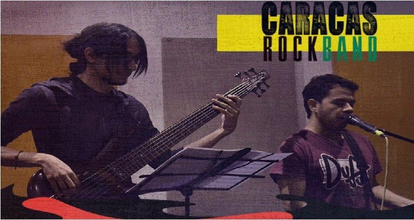 Todo está listo para el tributo de Soda Stereo que realizará la CARACAS ROCK BAND