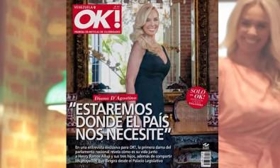 Diana D'Agostino en Ok Venezuela febrero 2016