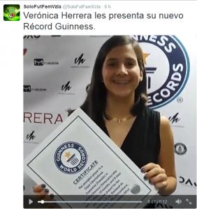 ZigmaZ - Veronica Herrera con record