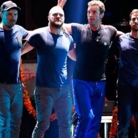 El espectáculo de Coldplay