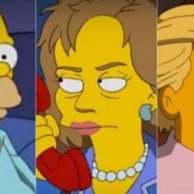 ¡HILARANTE! Homero Simpson aseguró que votará por Hillary Clinton