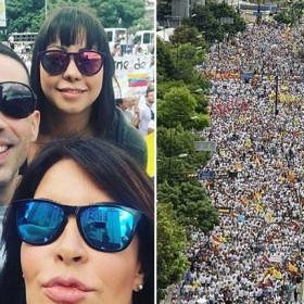 ¡SE LLEGARON! Estos son los artistas venezolanos que asistieron a la Toma de Caracas