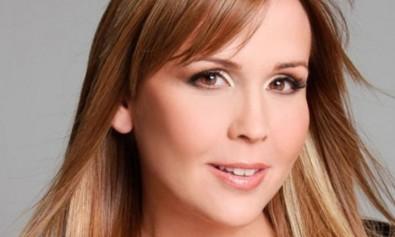 Sandra Villanueva, la bella animadora venezolana. Imagen Referencial