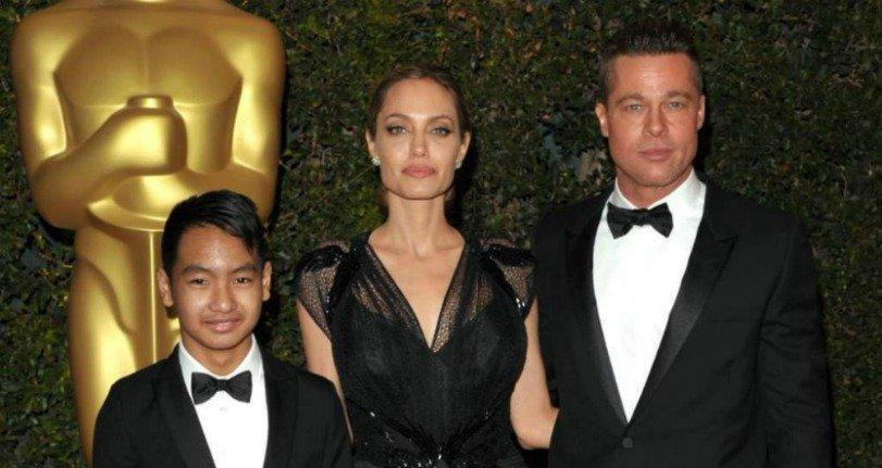 """¡Se hartó! Maddox no tolera más a Brad Pitt: """"Tú no eres mi padre"""""""