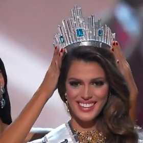 La representante de Francia se coronó como Miss Universo