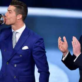 ¡Lo gana todo! Cristiano Ronaldo gana el premio The Best de la FIFA