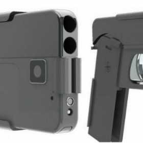 Conoce la polémica pistola despegable que se confunde con un smartphone
