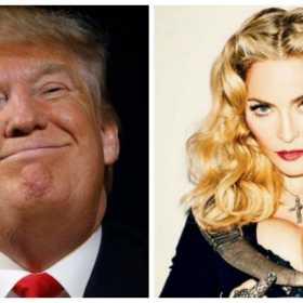 ¡Y sigue con sus polémicas! Trump llamó asquerosa a Madonna