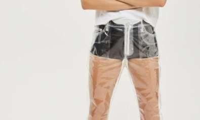 zigmaz-topshop trae su linea de pantalones de plasticos- fashion 2