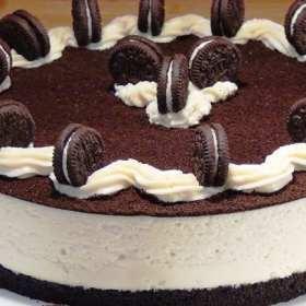 (Receta) Fácil helado de galletas con crema y chocolate