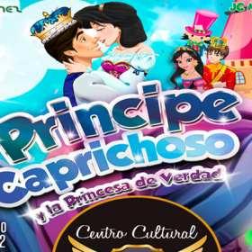 La obra 'Príncipe Caprichoso y la Princesa de Verdad' llega al Teatro Santa Fe