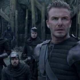 Twitteros critican a Beckham por su mala actuación
