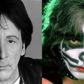 Baterista de Kiss Peter Criss se despide del escenario en un concierto en The Cutting Room de Nueva York
