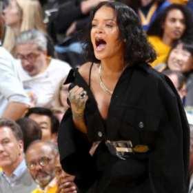 Rihanna rinde homenaje a LeBron James después de la derrota de las finales de la NBA