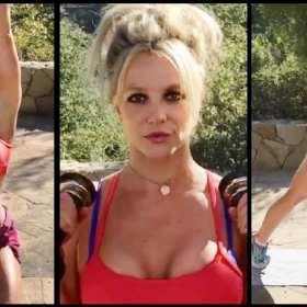 Britney Spears sube la temperatura en Instagram con su rutina de ejercicios al aire libre