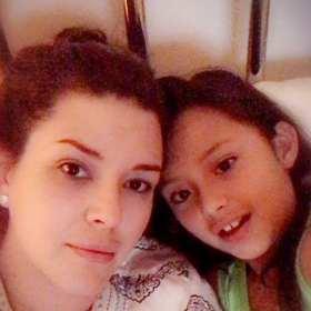 Hija de Alicia Machado recaudó fondos para niños de México y Puerto Rico