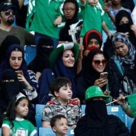 Arabia Saudita permitirá a mujeres asistir a partidos deportivos por primera vez
