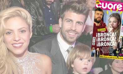 Shakira y Pique pelean en restaurant