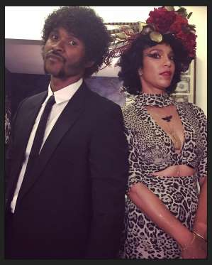 USHER COMO JULES WINNFIELD DE PULP FICTION.