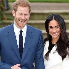 Meghan Markle y su primera aparición como prometida del príncipe Harry
