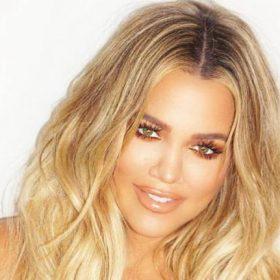 Khloe kardashian mostró un video de True en Instagram para celebrar su primer mes