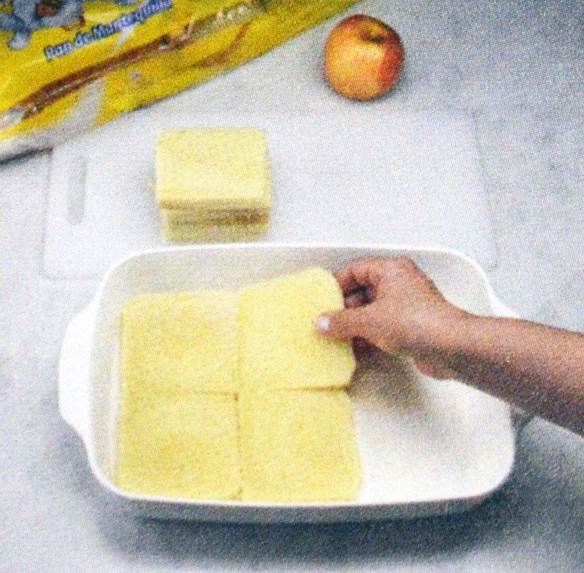 Tartaleta de Manzana con pan de mantequilla
