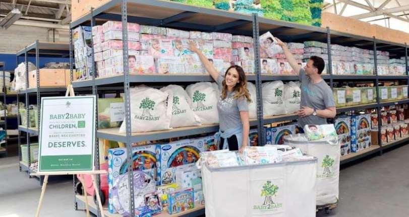 Jessica Alba y The Honest Company dona una gran cantidad generosa en pañales