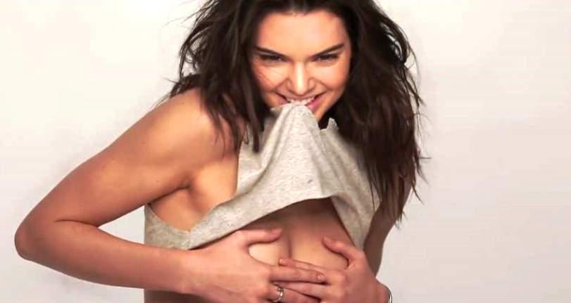 Momentos más memorables y casi desnudos de Kendall Jenner