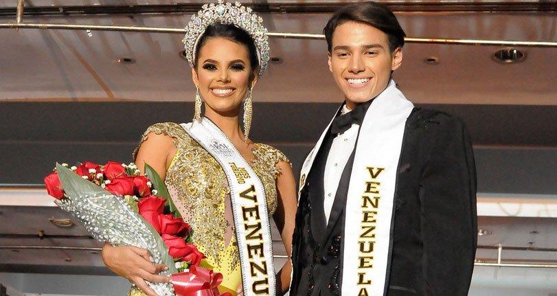 Sanabria y Da Silva ganaron la final del 'Miss y Mister Turismo Venezuela 2018'