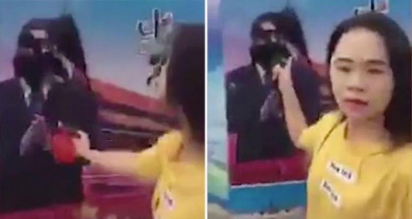 Mujer china exige que intervengan en el control mental del Partido Comunista Chino