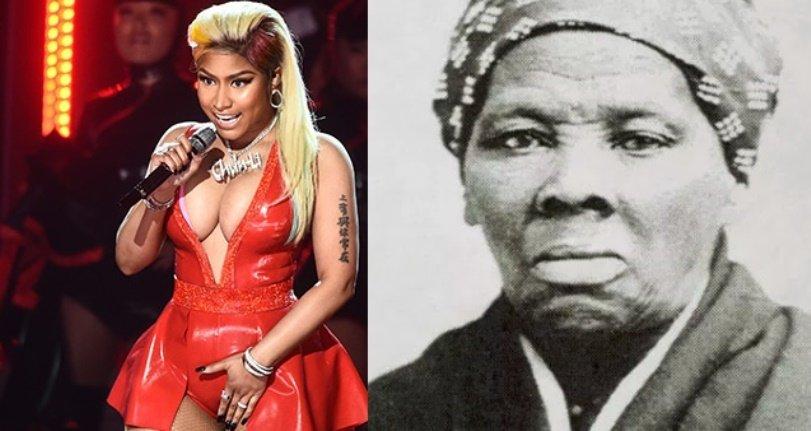 Nicki Minaj criticada después de compararse con Harriet Tubman