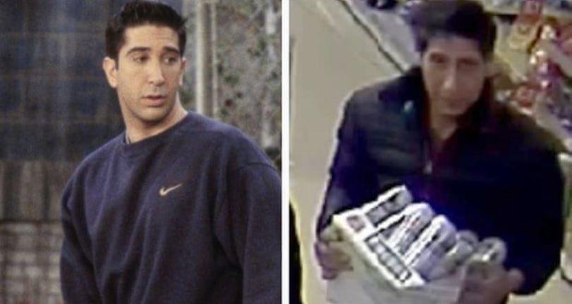 La estrella de 'Friends', David Schwimmer fue confundido con un ladrón en el Reino Unido