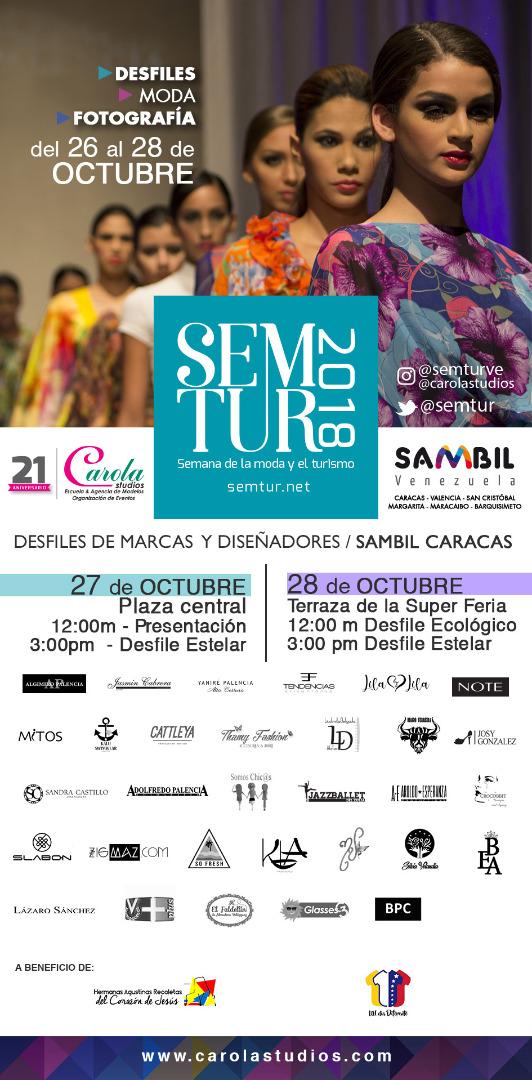 Semtur 2018 en el Sambil de Caracas