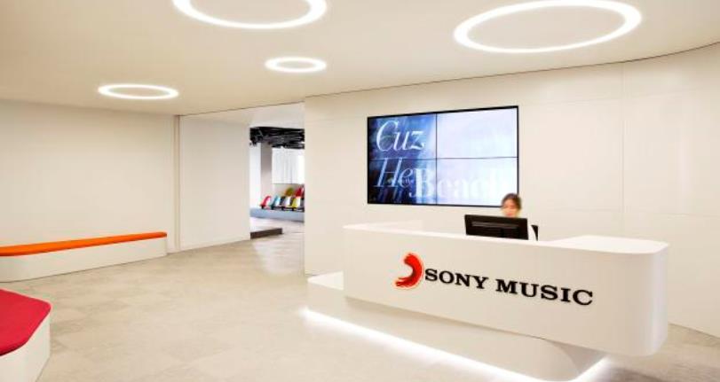 Los ingresos de Sony Music bajaron un 1,3 por ciento en el informe trimestral mixto