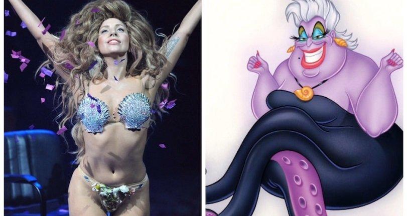 ¡RUMORES! Lady Gaga posiblemente para el papel de Ursula