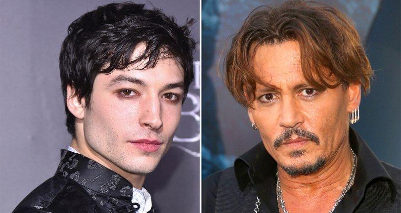 Ezra Miller habla sobre el casting de Johnny Depp en «Fantastic Beasts»: «Ninguno de nosotros fue consultado»