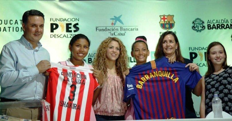 La Fundación Pies Descalzos de Shakira construirá dos nuevas escuelas en Colombia