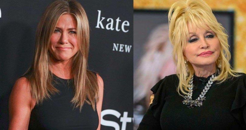 El esposo de Dolly Parton está enamorado de Jennifer Aniston