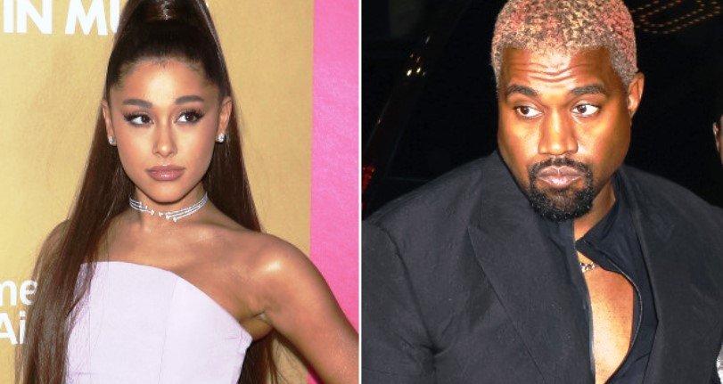Kanye West acusó Ariana Grande de usarlo para promocionar su canción y esto fue lo que ella le respondió