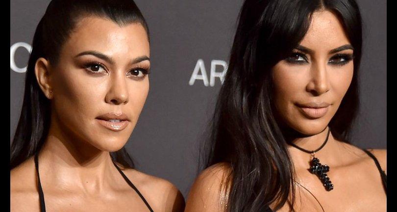 Kim Kardashian puede estar en pie de guerra contra su hermana Kourtney Kardashian