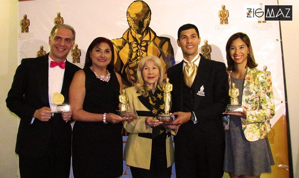 Gigantes Awards presentó la estatuilla que representará esta gala en el 2019