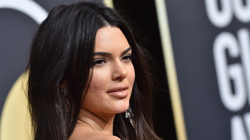 Kendall Jenner lleva un vestido asombroso a la fiesta posterior a los Oscar