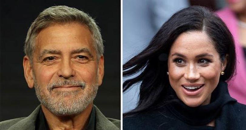 George Clooney explica por qué apoya a su amiga Meghan Markle
